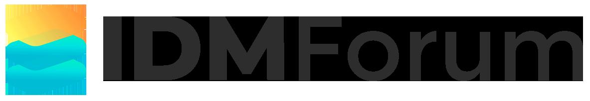 IDM Forum Logo