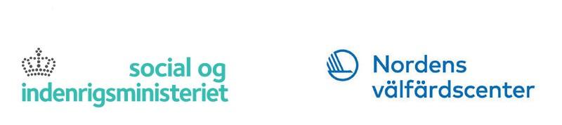 Social og indenrigsministeriet och Nordens välfärdscenters logotyper