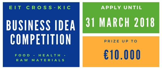 EIT Cross KIC Business Idea Competition 2018 | EIT Business Idea