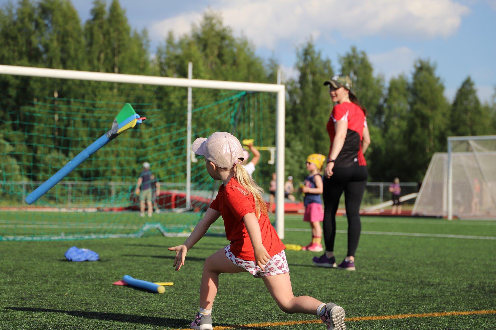 Yleisurheilun liikuntaleikkikoulu 4-6v (2017-2015)